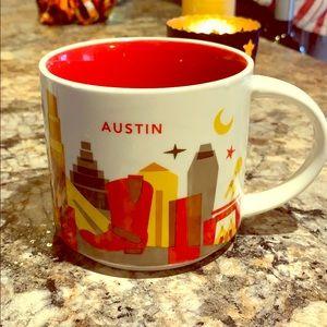 ✨ STARBUCKS AUSTIN You Are Here Mug Discontinued